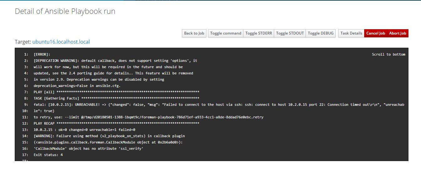 CallbackModule' object has no attribute 'ssl_verify